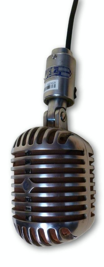Shure Unidyne 556 Boxing Ring Microphone at Hollywood Sound Systems