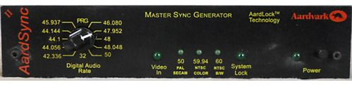 The Aardvark Aardsync II Master Word Clock Sync Generator is available at Hollywood Sound Systems..jpg