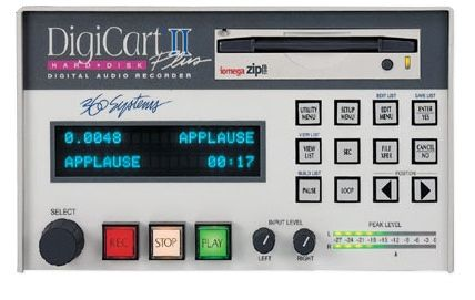 360 Systems Digicart II Digital Audio Recorder at Hollywood Sound Systems