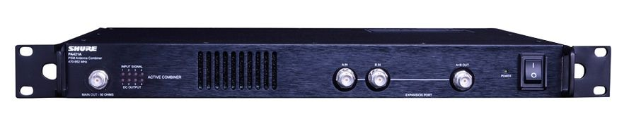 Shure PA421A Antenna Combiner at Hollywood Sound Systems