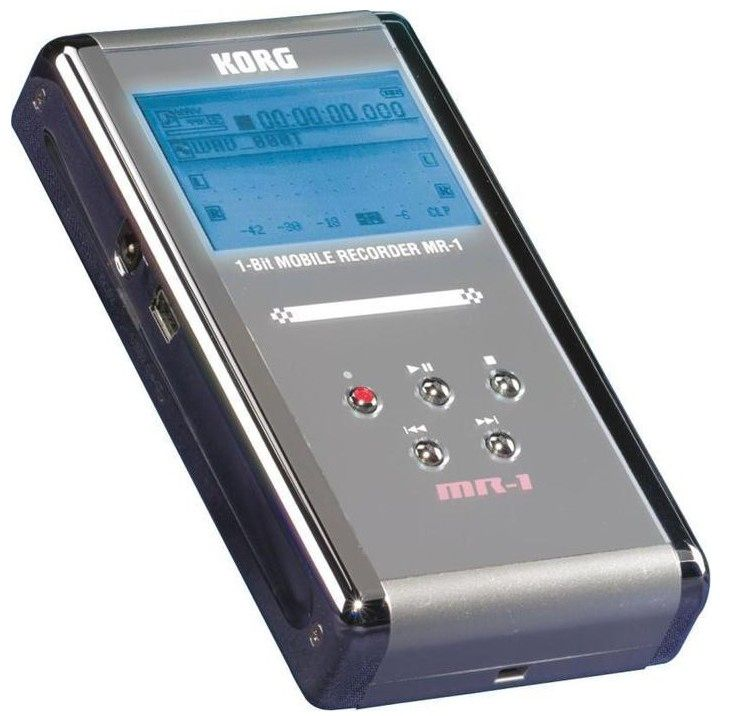 The Korg MR-1 Handheld Digital Audio Recorder is at Hollywood Sound Systems.