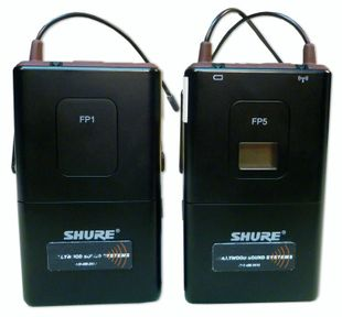 SHURE FP-1 and FP-5 Wireless Microphone Set