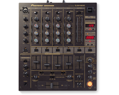 Pioneer DJM-600 Pro DJ Mixer available at Hollywood Sound Systems