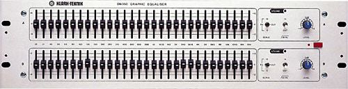 The Klark-Teknik DN360B Graphic Equalizer is at Hollywood Sound Systems.