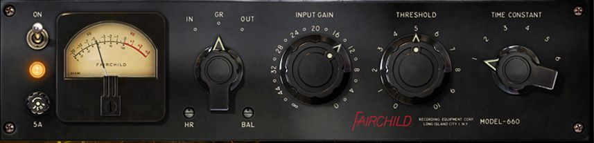 The Fairchild 660 Compressor / Limiter is available at Hollywood Sound Systems.