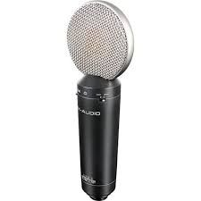 The M-Audio Luna Cardioid Large-Diaphragm Condenser Microphone is at Hollywood Sound Systems.