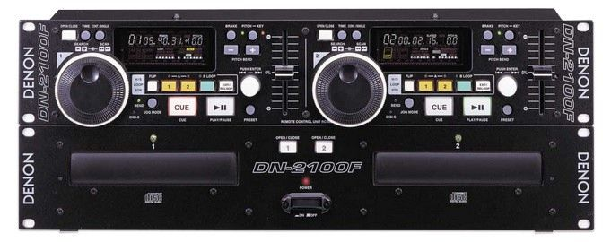 DENON DN-2100F Dual CD Player is at Hollywood Sound Systems.
