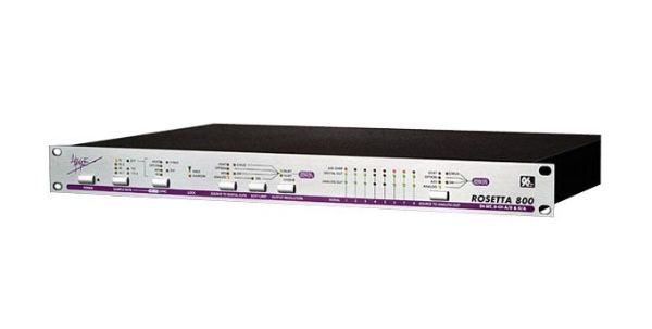 The Apogee Electronics Rosetta 800 8-Channel AD/DA Converter is available at Hollywood Sound Systems.