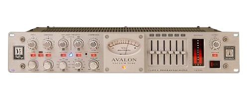 The Avalon VT-747SP Stereo Tube Compressor is at Hollywood Sound Systems