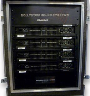 HSS XW15 4CH Amplifer Rack