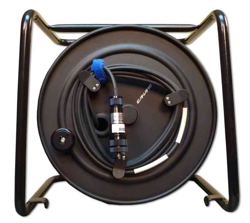 CANARE fiber optic reel with cable.jpg