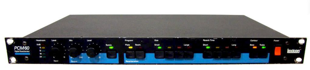Lexicon PCM60 Digital Effects Processor at Hollywood Sound Systems