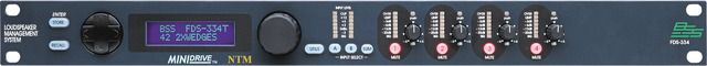 The BSS Audio FDS-334 MiniDrive is at Hollywood Sound Systems