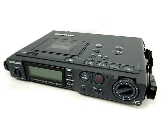 Tascam DA-P1 Portable Recorder With Headset at Hollywood Sound Systems
