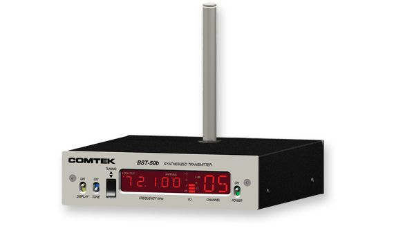 Comtek BST-50B Synthesized Base Station Transmitter at Hollywood Sound Systems