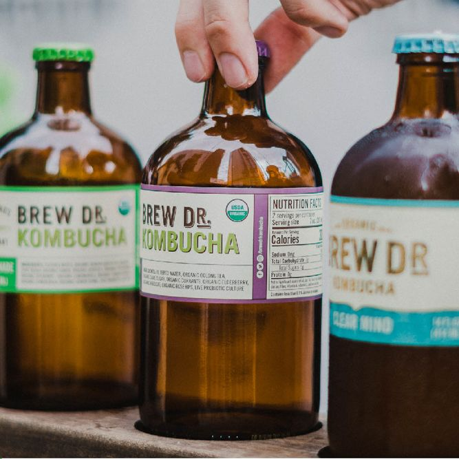 Clear Mind Brunch with Brew Dr. Kombucha