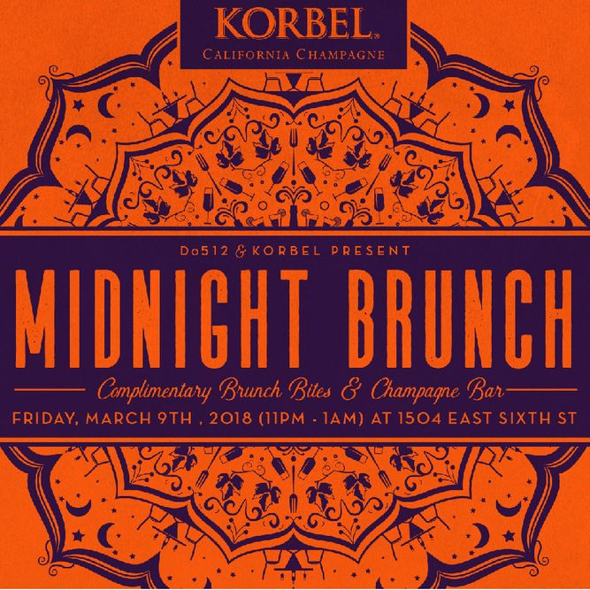 Midnight Brunch Series with Korbel California Champagne