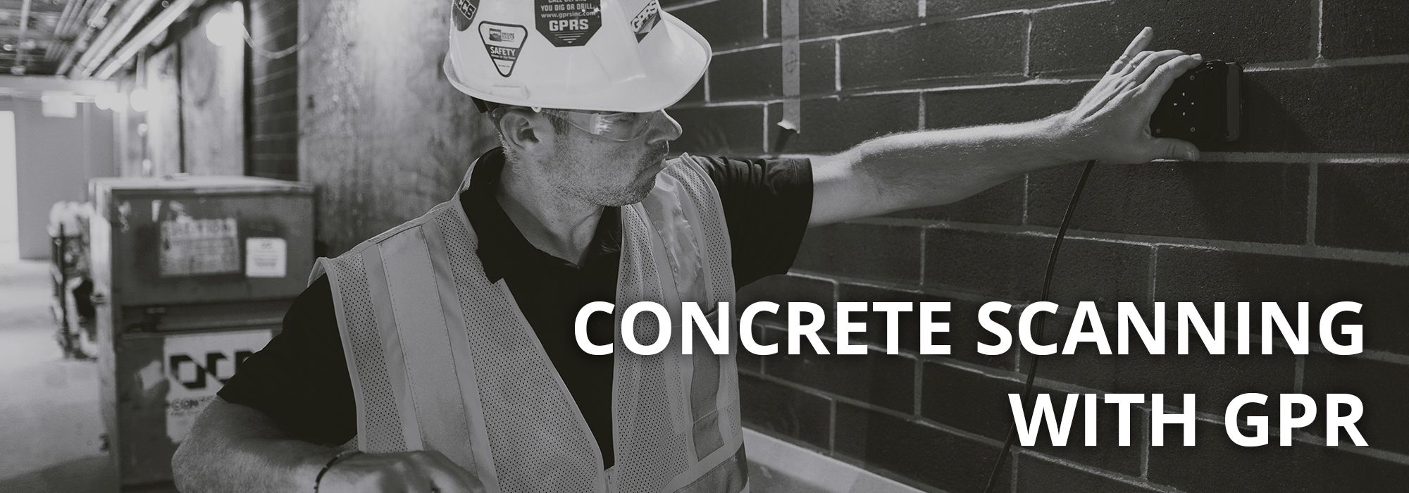 Concrete Scanning with GPRS