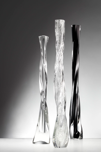 Clear Glass Decorative Vases