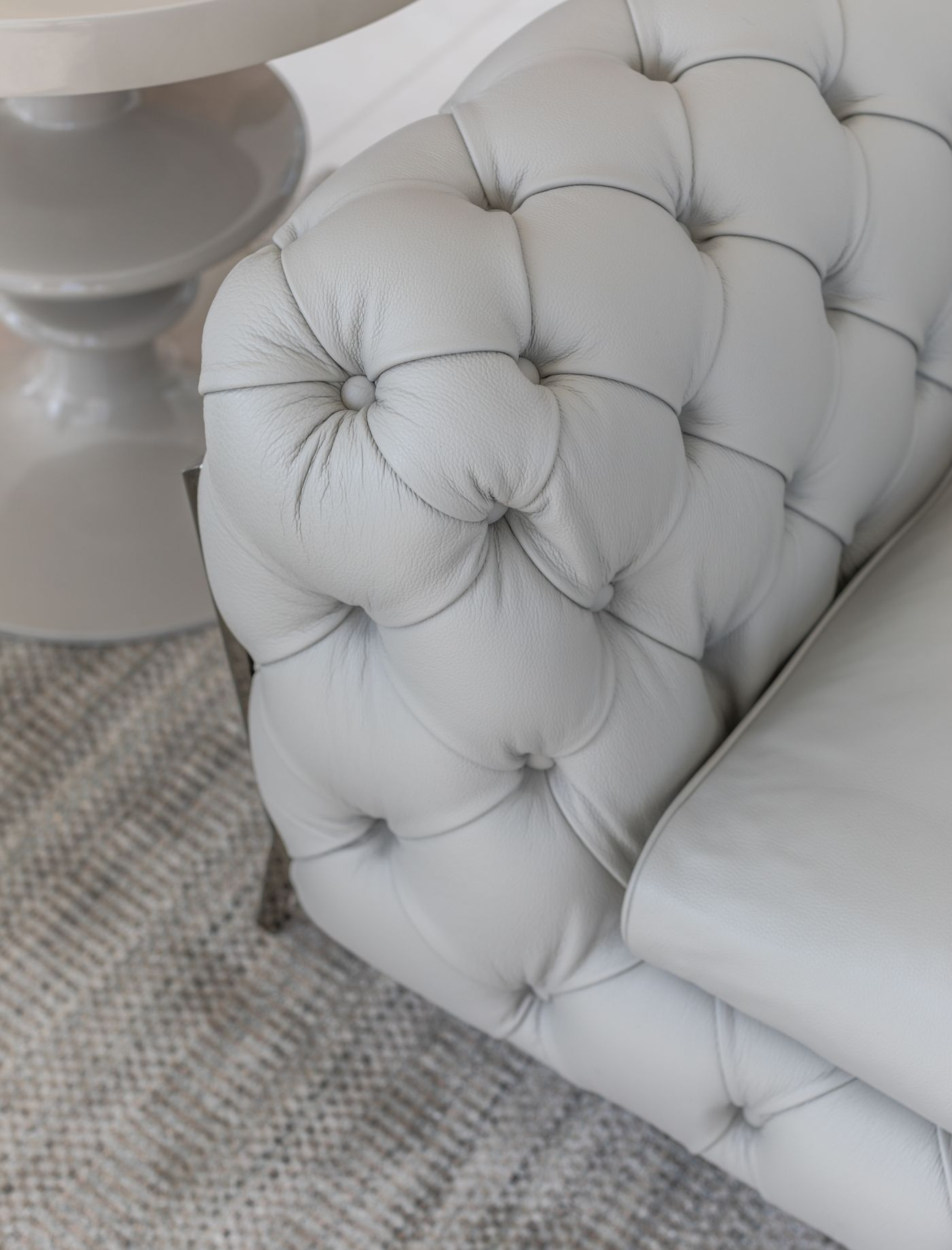 Leather Couch Sunny Isles