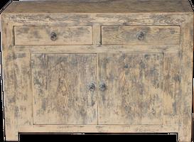 Vintage Console Cabinet