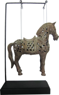 International Iron Horse on Stand
