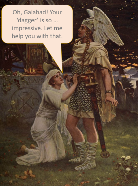 Galahad with speech bubble.png