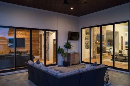 Custom House Builder in Austin, TX - Luxury Outdoor Patio