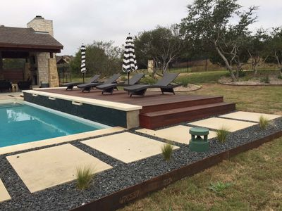Custom Outdoor Pool Deck