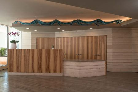 Modern Upscale Office Lobby Renovation