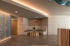 Lobby of downtown Austin office building