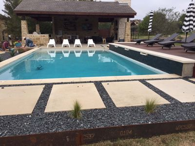 Custom Pool Deck and Cabana Design and Construction