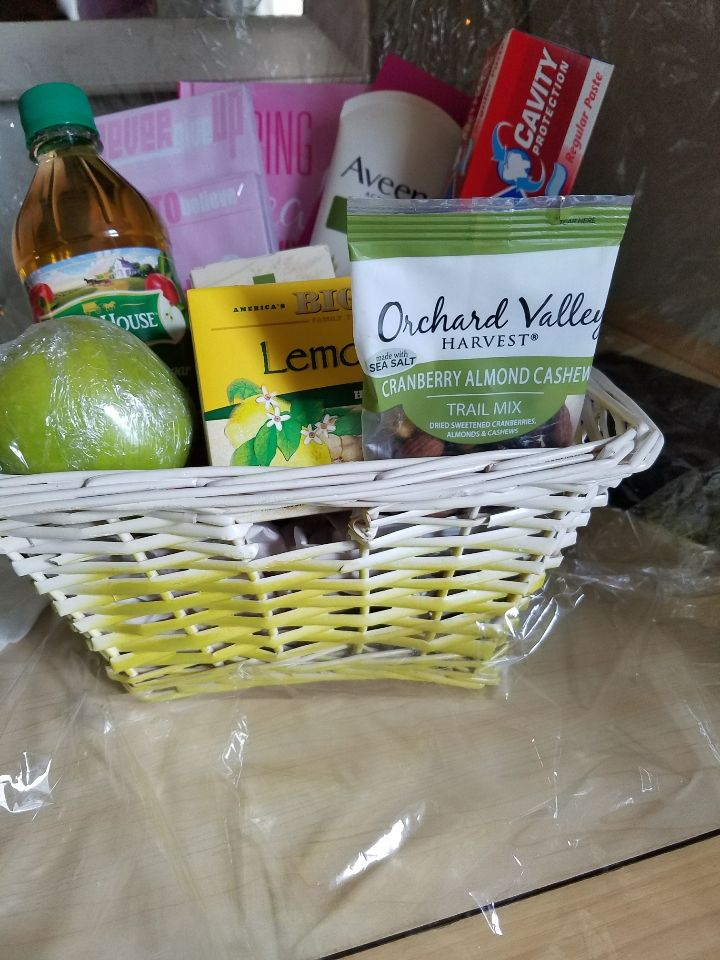 Sarcoma Cancer Survivor Basket
