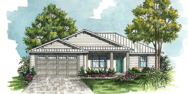 Florida House Plans - Build on Your Own Lot