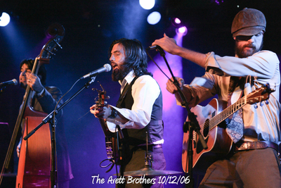 The Avett Brothers 10/12/06