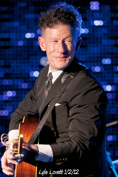 Lyle Lovett 1/2/12
