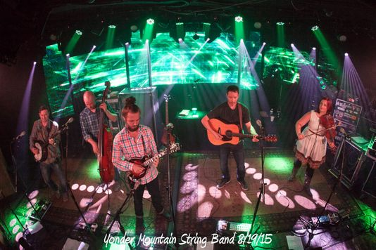 Yonder Mountain String Band 8/19/15