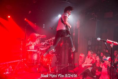 Black Pistol Fire 3/24/16