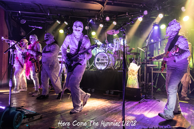 Here Come The Mummies 1/8/18