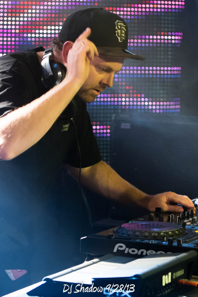 DJ Shadow 9/28/13