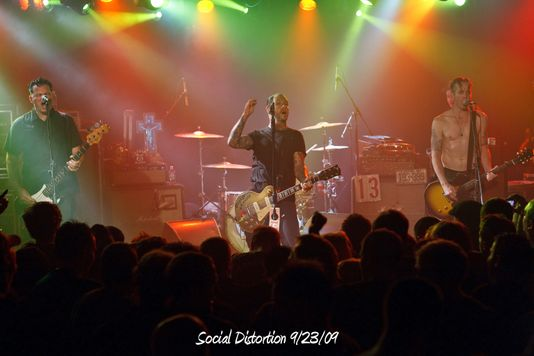 Social Distortion 9/23/09