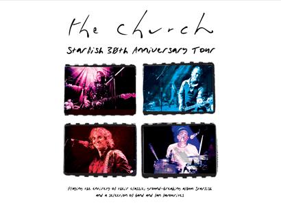 The Church - Starfish 30th Anniversary Tour