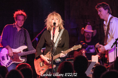 Lucinda Williams 8/22/12