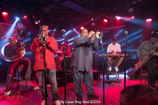 Dirty Dozen Brass Band 3/2/14