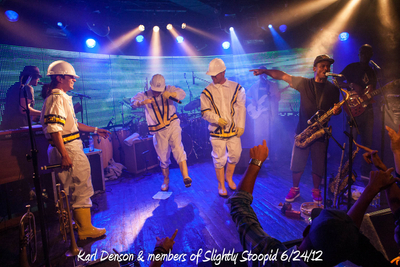 Karl Denson & members of Slightly Stoopid 6/24/12