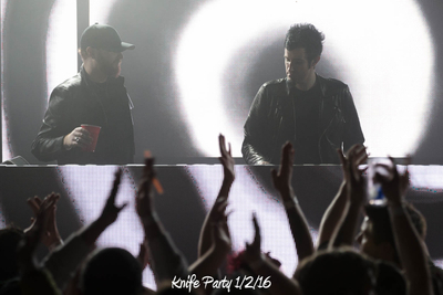Knife Party 1/2/16