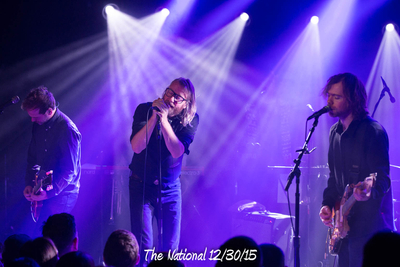 The National 12/30/15