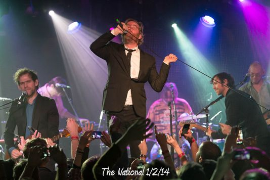 The National 1/2/14