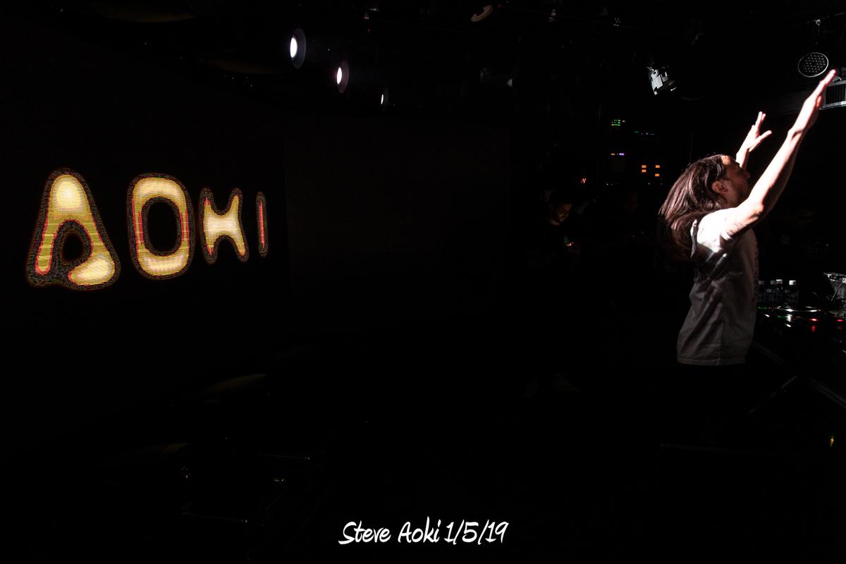 Steve Aoki 1/5/19