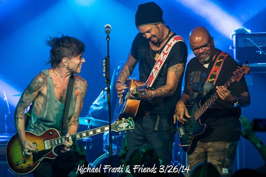 Michael Franti & Friends 3/26/14